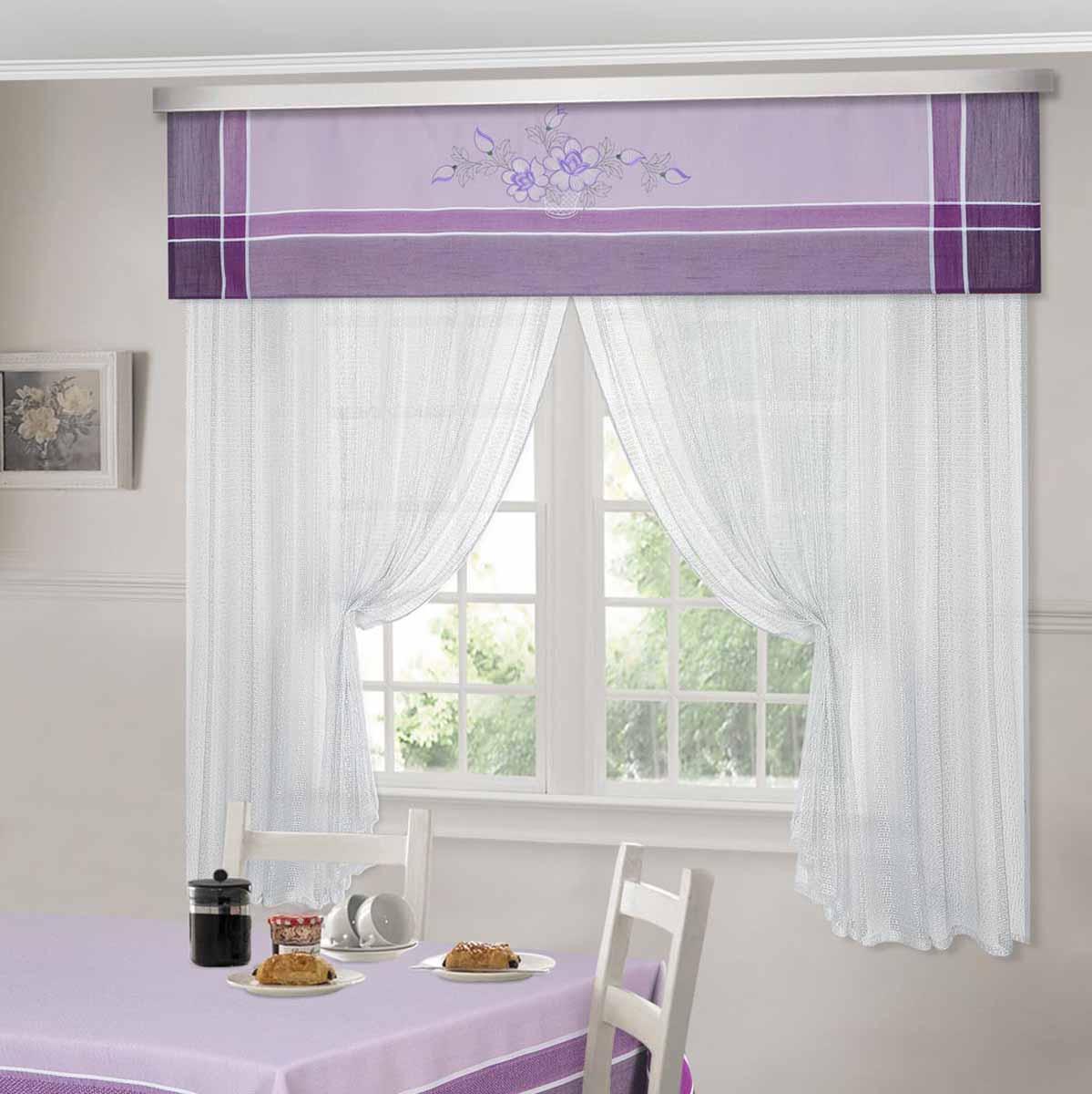 Комплект штор ТД Текстиль Шик, на ленте, цвет: сиреневый, высота 180 см. 9252592525Шторы выполнены из искусственной ткани под лен. Цвета в ассортименте. В наличии присутствуют скатерти из этой же ткани в двух размерах.