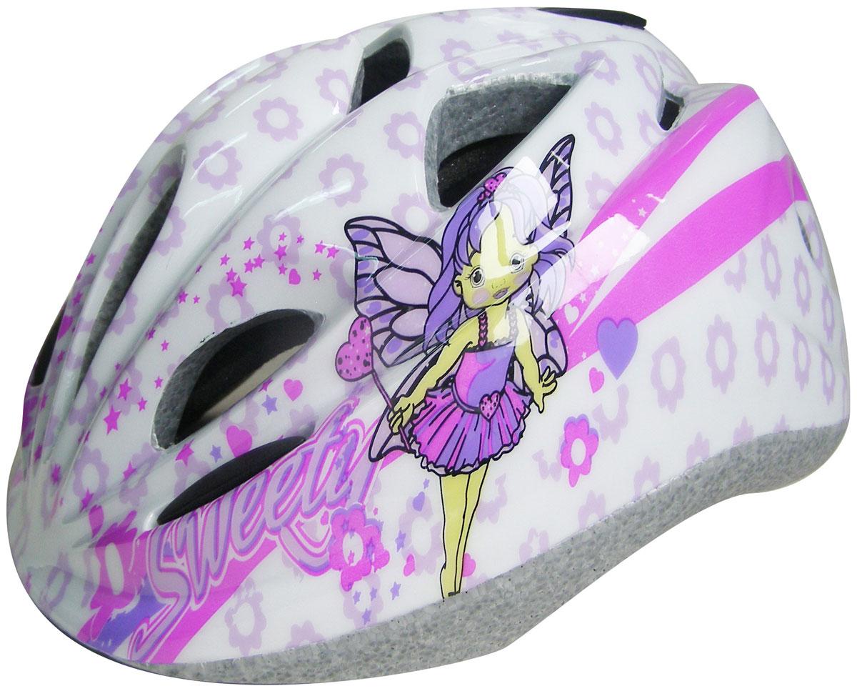Шлем защитный Action PWH-280. Размер XSPWH-280Основные характеристики Размер: XS (48-51) Материалы: внутренний - пенополистирол, внешний - поливинилхлорид Имеются отверстия для вентиляции головы Цвет: белый/фиолетовый/розовый Вид использования: любительское катание на роликовых коньках/велосипеде Страна-производитель: Китай Упаковка: сумка-сетка с европодвесом Предназначен для защиты головы во время катания на роликовых коньках и велосипеде. Преимущества шлема PWH-280: небольшой вес; наличие крепежных ремешков; наличие отверстий для вентиляции головы; удобная анатомическая форма и отстуствие дополнительных элементов, препятствующих обзору роллера.
