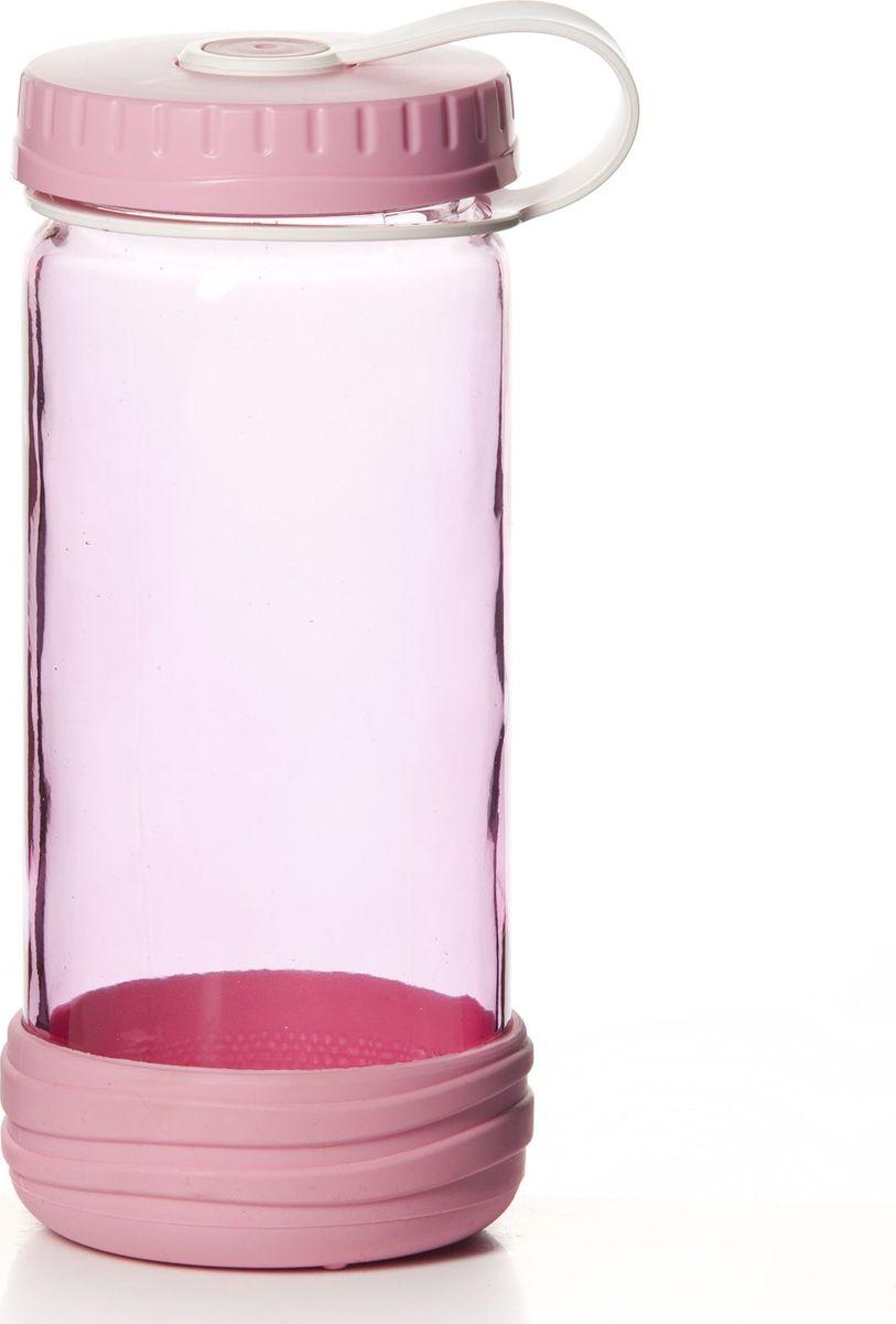 Бутылка Pasabahce, 0,5 л. 111801-000111801-000Бутыль для напитков с винтовой крышкой 7*7*17 см