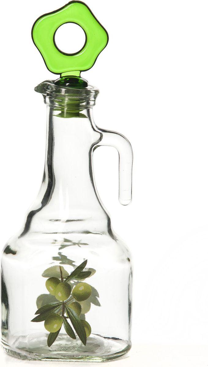 Емкость для жидкости Pasabahce, 275 мл. 151051-000151051-000Бутыль для жидких специй с рис.Оливки 7,5*6*21 см