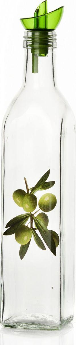 Емкость для жидкости Pasabahce, 500 мл. 151135-000151135-000Бутыль для жидких специй с дозатором V=500 мл, 5,7*5,7*29 см, с рис. Оливки