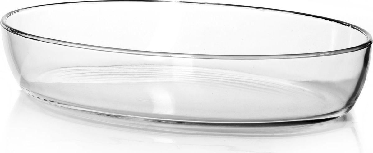 Форма для запекания Pasabahce, 3 л. 5907459074Посуда для СВЧ форма овальная б/крышки 3л (350*245 мм)