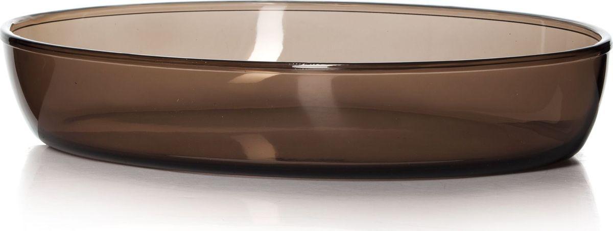 Посуда для СВЧ Pasabahce, 35 х 24 см. 59074BR59074BRПосуда для СВЧ овальная 350*240 мм. цветное стекло