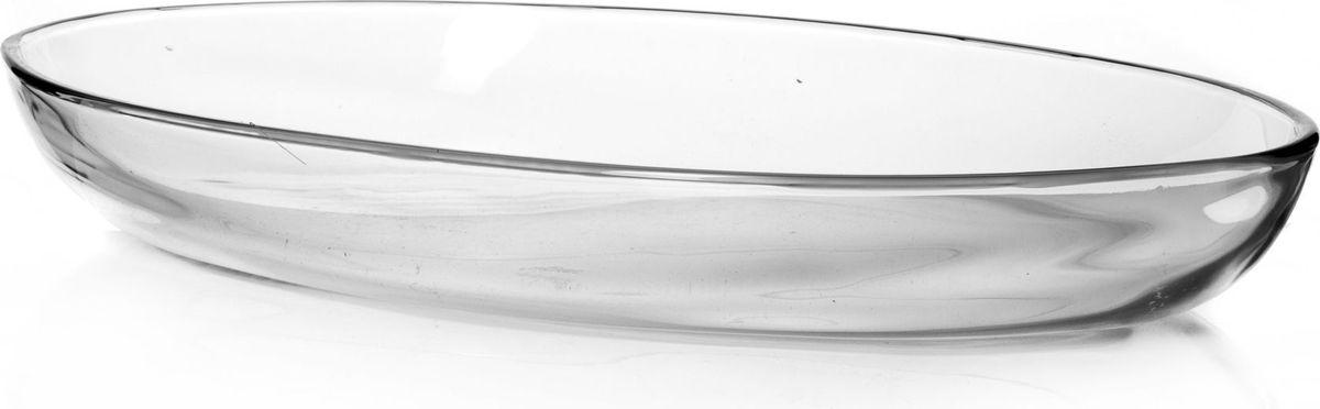 Форма для запекания Pasabahce, 3 л. 5977459774Посуда для СВЧ форма овальная б/крышки 440*260 мм 3 л
