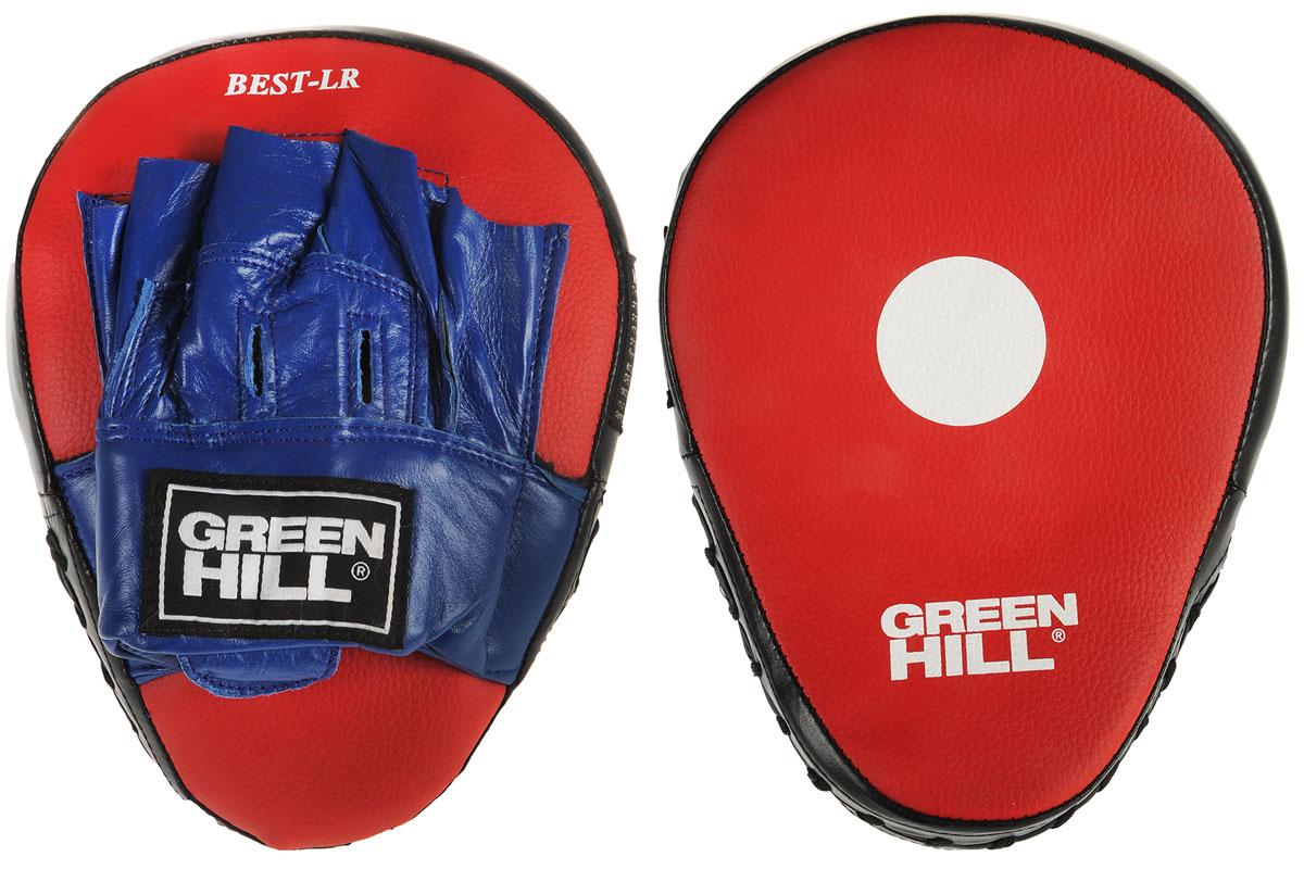 "Лапы боксерские Green Hill ""Best"", изогнутые, 2 шт FMB-8017"