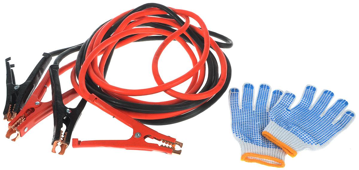 Провода прикуривания AVS Expert, 38,6 мм2, 700 А, 5 мA80686SПровода прикуривания AVS Expert предназначены для запуска автомобиля с разряженной батареей от аккумулятора другого автомобиля. В комплекте удобная сумка и перчатки. Данные провода рекомендованы для автомобилей с бензиновым двигателем, объемом свыше 5 л или с дизельным двигателем, объемом свыше 4,5 л. Длина провода: 5 м. Морозостойкость: -40°С. Площадь сечения провода: 38,6 мм2. Количество жил в проводе: 480. Напряжение: 12/24В. Максимальный ток: 700 А.
