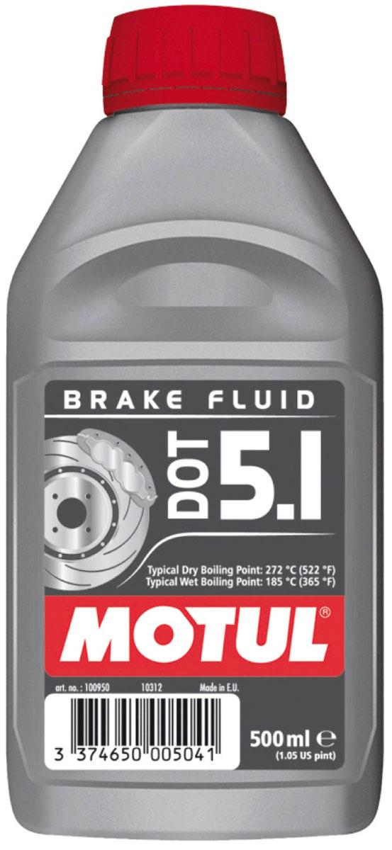 Жидкость тормозная Motul DOT 5.1 BF, 500 мл100950Жидкость длительного использования для гидравлических тормозных приводов и сцеплений. 100% синтетика, DOT 5.1 (без силикона). Для всех систем гидравлических тормозных приводов и сцеплений, в которых рекомендовано применение жидкостей DOT 3, DOT 4, DOT 5.1. Жидкость специально разработана для работы с антиблокировочной системой тормозов (ABS). Одобрения: FMVSS 116 DOT 5.1 NON SILICONE BASE, DOT 4 et DOT 3; SAE J 1703; ISO 4925 (5.1, 4 et 3)