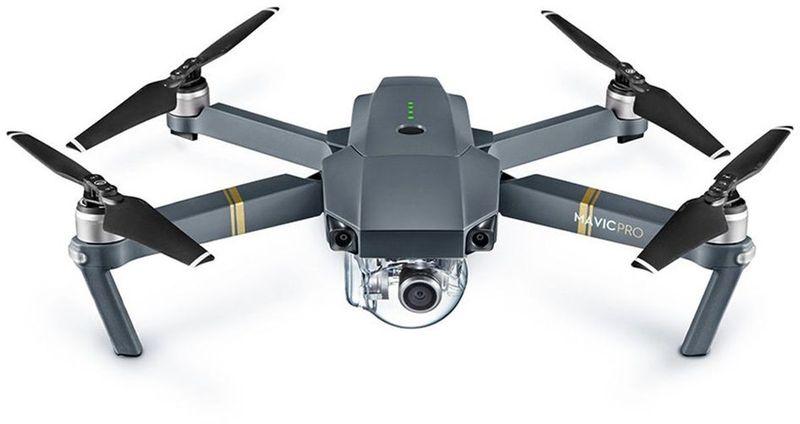 DJI Квадрокоптер на радиоуправлении Mavic Pro Fly More Combo