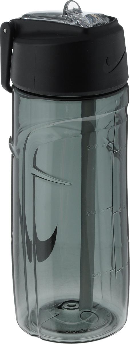 Бутылка для воды Nike T1 Flow Swoosh Water Bottle 16oz, цвет: темно-серый, белый, 473 млN.OB.A3.048.16Бутылка для воды Nike T1 Flow Swoosh Water Bottle 16oz с горлышком, которое поднимается на 90 градусов, что обеспечивает простоту в использовании. Модель дополнена измерительной шкалой. Возможно мытье в посудомоечной машине, легко собирается и разбирается (инструкция прилагается). Технология материала Tritan обеспечивает долговечность и ударопрочность. Объем: 473 мл. Длина: 17,5 см. Диаметр (по нижнему краю): 6,5 см.