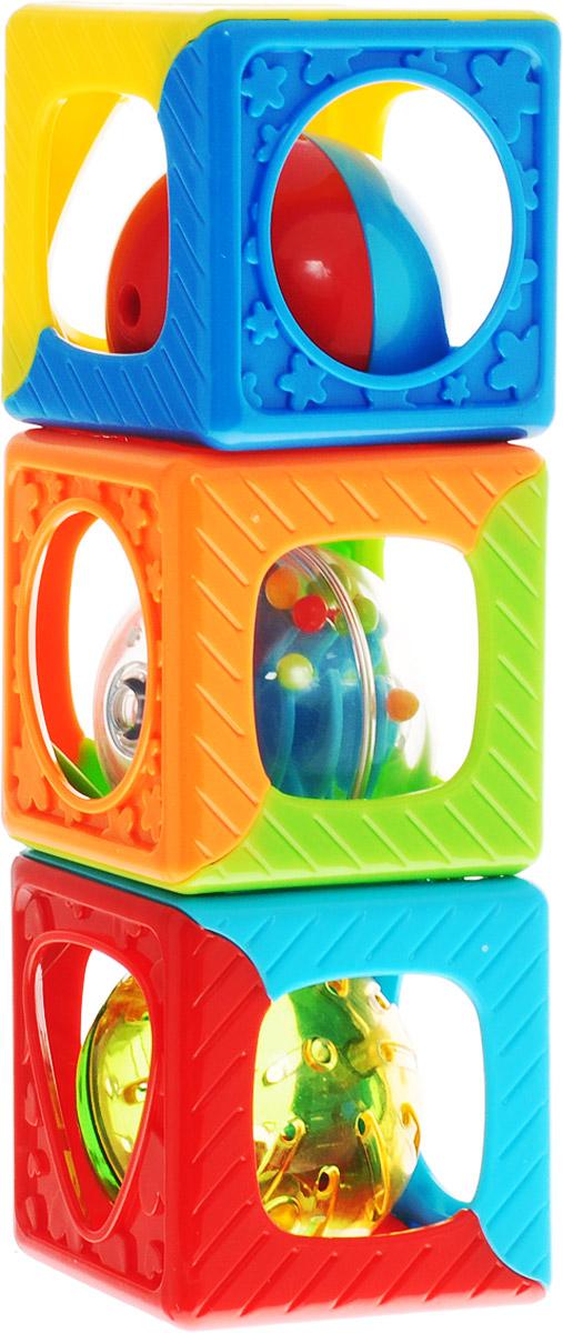 Playgo Развивающая игрушка Кубики-погремушка  недорого