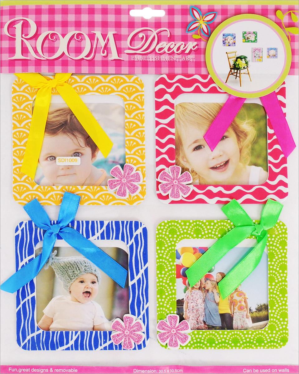 Room Decor Наклейка интерьерная с фоторамками Яркие моменты вид 9