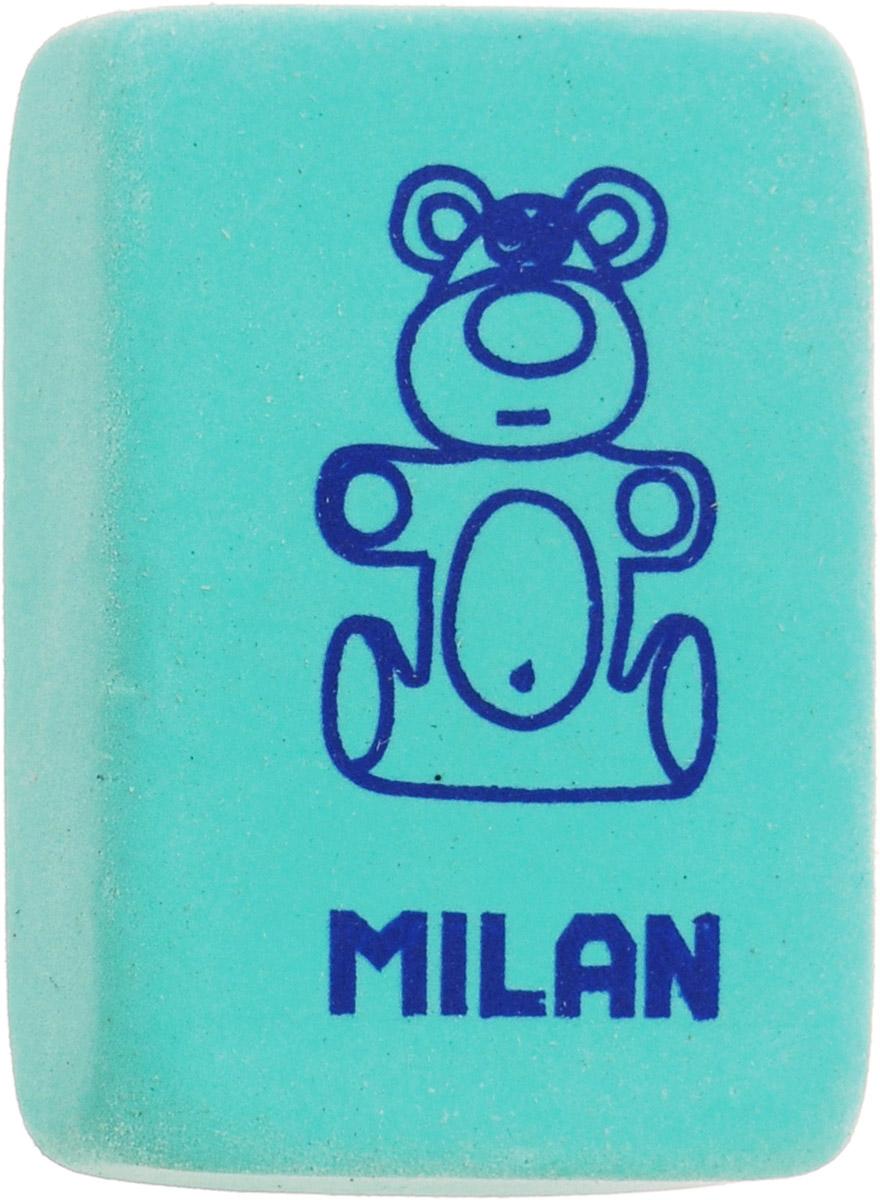 Milan Ластик 4060 цвет бирюзовыйCNM4060_бирюзовыйЛастик Milan изготовлен из натурального каучука с добавлением абразивных веществ. Подходит для работы с твердыми грифелями. Имеет мягкую форму, спокойный пастельный цвет. Ластик обеспечивает высокое качество коррекции и не повреждает поверхность бумаги.
