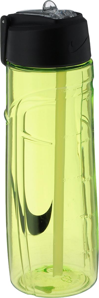 Бутылка для воды Nike T1 Flow Swoosh Water Bottle 24oz, цвет: желтый, черный, 709 млN.OB.92.713.24Бутылка для воды Nike T1 Flow Swoosh Water Bottle 24oz с горлышком, которое поднимается на 90 градусов, что обеспечивает простоту в использовании. Модель дополнена измерительной шкалой и петелькой для подвешивания. Технология материала Tritan обеспечивает долговечность и ударопрочность. Не содержит BPA. Объем: 709 мл. Высота: 22 см. Диаметр основания: 7 см.