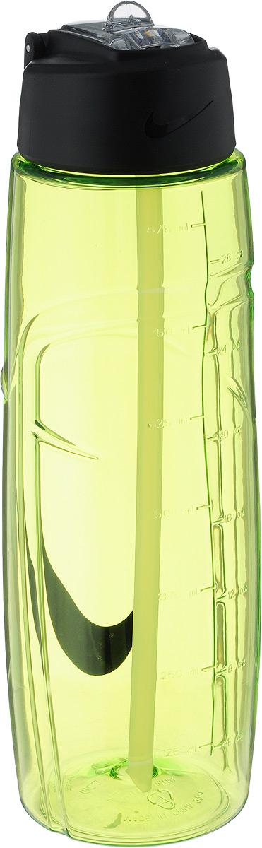 Бутылка для воды Nike T1 Flow Swoosh Water Bottle 32oz, цвет: желтый, черный, 946 млN.OB.91.713.32Бутылка для воды Nike T1 Flow Swoosh Water Bottle 32oz с горлышком, которое поднимается на 90 градусов, что обеспечивает простоту в использовании. Модель дополнена измерительной шкалой и петелькой для подвешивания. Технология материала Tritan обеспечивает долговечность и ударопрочность. Не содержит BPA. Объем: 946 мл. Высота: 25 см. Диаметр основания: 7,5 см.