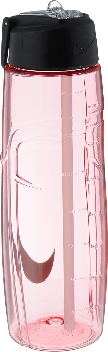 Бутылка для воды Nike T1 Flow Swoosh Water Bottle 32oz, цвет: розовый, серый, 946 млN.OB.91.606.32Бутылка для воды Nike T1 Flow Swoosh Water Bottle 32oz с горлышком, которое поднимается на 90 градусов, что обеспечивает простоту в использовании. Модель дополнена измерительной шкалой и петелькой для подвешивания. Технология материала Tritan обеспечивает долговечность и ударопрочность. Не содержит BPA. Объем: 946 мл. Высота: 25 см. Диаметр основания: 7,5 см.