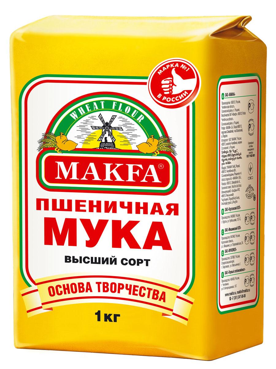 Makfa мука пшеничная, 1 кг 80858