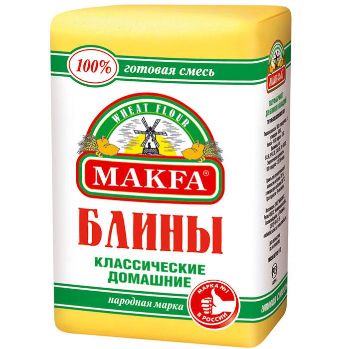 Makfa Блины классические домашние мука для блинов и оладий, 1 кг 81829