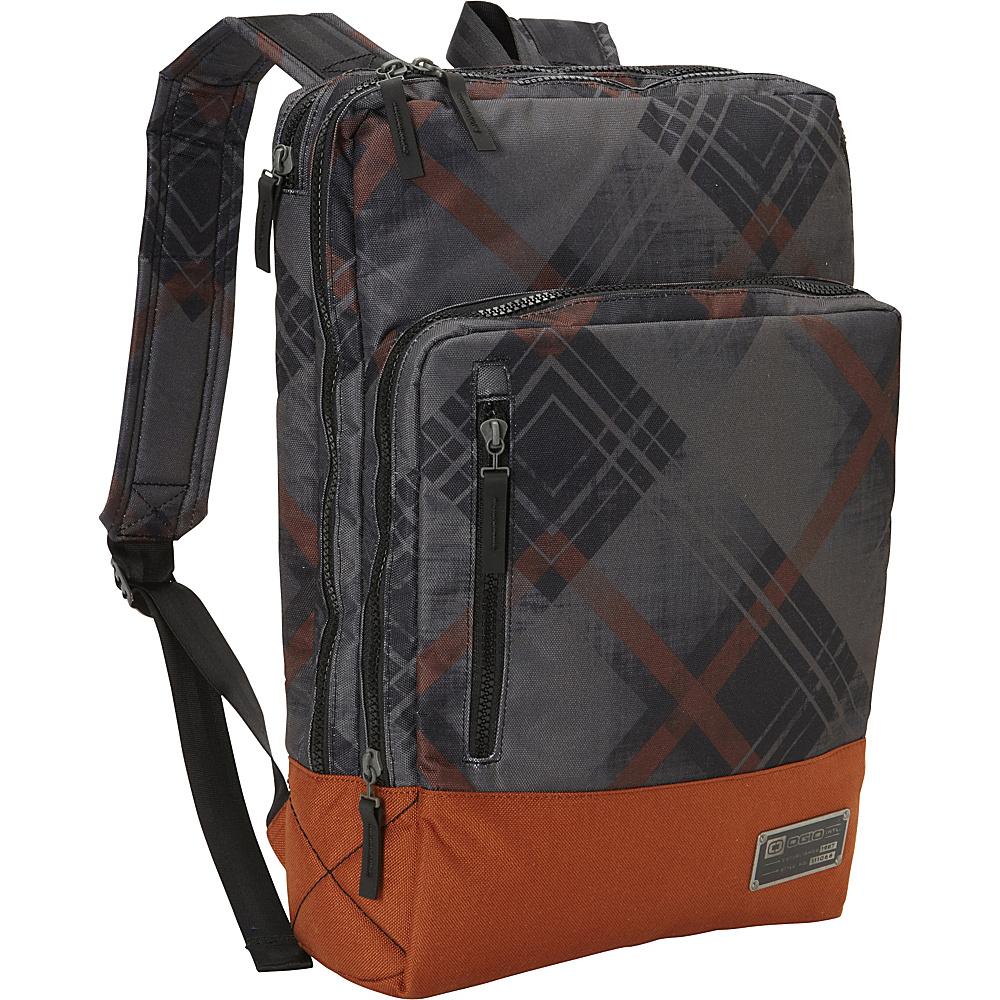 Рюкзак городской OGIO Fashion. Covert Pack (A/S), цвет: темно-серый, коричневый. 031652208933031652208933С виду компактный, но очень вместительный рюкзак от Ogio, он отлично подойдет для транспортировки любимых гаджетов. Ogio Covert Pack оснащен мягким чехлом для ноутбука, отсеком для планшета с дополнительным пространством для документов, а так же превосходным карманом-органайзером, легко вмещающим письменные принадлежности и полезные аксессуары. Отличная модель для тех, кто не любит громоздкие рюкзаки, отдавая предпочтение изящным силуэтам.