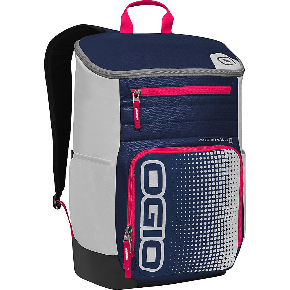 Рюкзак городской OGIO Active. C4 Sport Pack (A/S), цвет: синий, красный, серый. 031652226869031652226869Удобнейший рюкзак для занятий спортом с огромным основным отделением и несколькими внешними карманами. Туда поместится экипировка практически для любого вида спорта. Вам он точно понравится.
