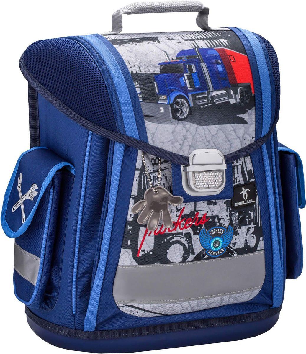 Belmil Ранец школьный Sporty Trucker404-5/576