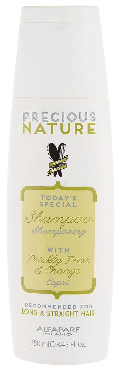 Alfaparf Precious Nature Shampoo for Long and Straight Hair Шампунь для длинных и прямых волос, 250 мл12511Разглаживающий шампунь с маслом опунции для максимального контроля гладкости и блеска. Благодаря своим разглаживающим свойствам, масло опунции* делает волосы мягкими и шелковистыми, а входящий в состав экстракт апельсина* придает волосам сияние. -100% натуральный ингредиент. НЕ СОДЕРЖИТ: сульфатов, парабенов, парафинов, минеральных масел, синтетических веществ, аллергенов -гипоаллергенные экстракты растений и ароматизаторы Объем: 250 мл