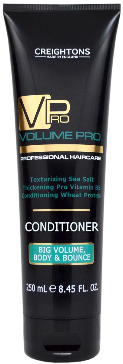 Creightons Кондиционер для придания объема и упругости волосам, 250 млCN5501Питает и увлажняет волосы от корней до самых кончиков без утяжеления. Делает волосы более послушными, увлажняет, борется с пушением и придает блеск волосам. Уникальное сочетание Pro Витамина B5, Морской соли и Протеина Пшеницы уплотняет структуру волоса. Подходит для всех типов волос.