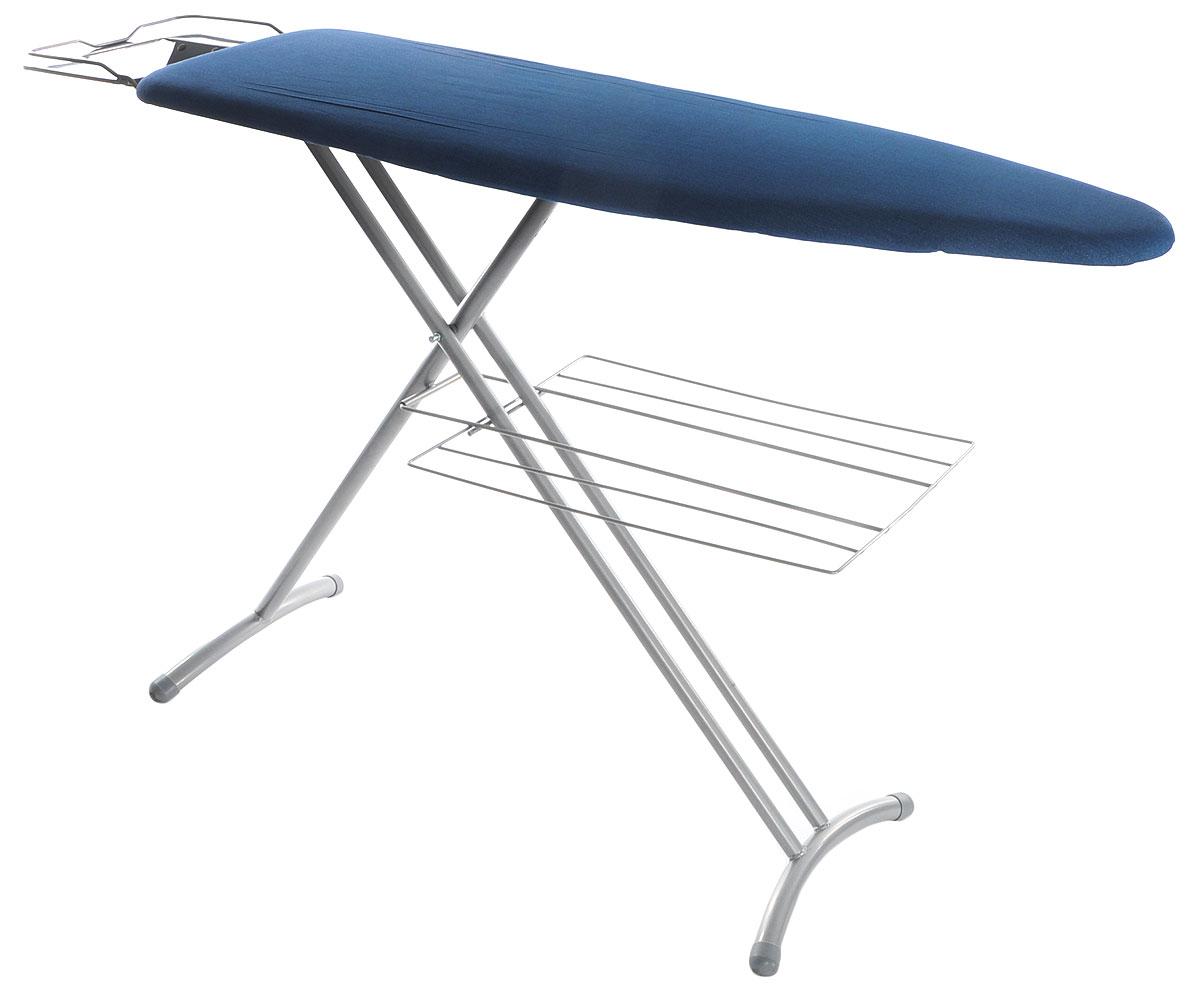 Ves YJ-1548HS.GS гладильная доскаYJ-1548HS.GSVes YJ-1548HS.GS - современная гладильная доска, которая имеет устойчивые ножки из стальных труб с пластиковыми наконечниками. Данная модель также оснащена решеткой для белья, подставкой для утюга и паропроницаемой поверхностью столешницы. Максимальная высота: 90 см Розетка Поверхность столешницы - 121 х 38 см Съемный чехол