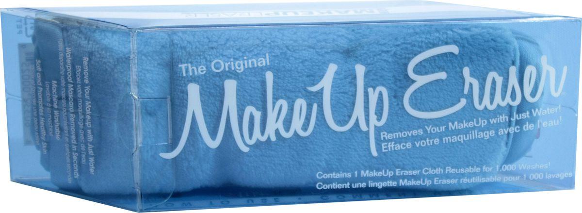 MakeUp Eraser салфетка для снятия макияжа голубая000259Makeup Eraser Original (голубая) уникальная салфетка, которая с невероятной легкостью снимает макияж, аккуратно очищая кожу лица абсолютно естественным образом. Салфетка воздействует без применения привычных средств для удаления декоративной косметики или умывания, значительно упрощает повседневный ритуал ухода и очищения, делает его приятным и легким. Секрет магических свойств салфетки Makeup Eraser заключается в особом переплетении полиэстеровых нитей. При производстве изделия поверхность ткани не подвергается никакой химической обработке, что гарантирует ее гипоаллергенность и безопасность применения, а для того, чтобы начать процедуру использования салфетки, достаточно просто хорошо смочить ее в чистой теплой воде. Салфетку Makeup Eraser можно с успехом применять для любого типа кожи, в том числе очень чувствительной, ее мягкое воздействие не вызывает раздражений или покраснений, высокий уровень качества ткани гарантирует длительное использование салфетки, а ее великолепные...