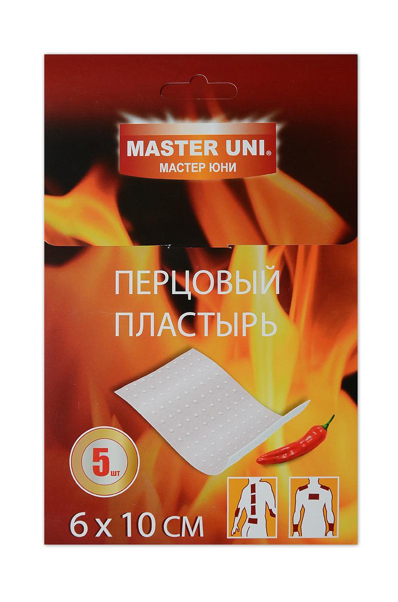 Master Uni Перцовый пластырь 6 х 10 см, набор 5 шт