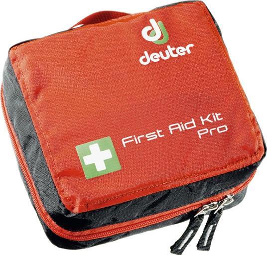 """Сумка для медикаментов Deuter """"First Aid Kit Pro"""", цвет: красный, черный, 16 х 18 х 8 см"""