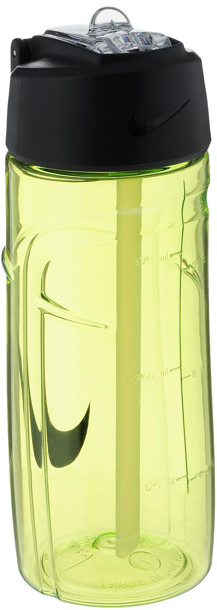 Бутылка для воды Nike T1 Flow Swoosh Water Bottle 16oz, цвет: желтый, черный, 473 млN.OB.A3.713.16Бутылка для воды Nike T1 Flow Swoosh Water Bottle 16oz с горлышком, которое поднимается на 90 градусов, что обеспечивает простоту в использовании. Модель дополнена измерительной шкалой. Возможно мытье в посудомоечной машине, легко собирается и разбирается (инструкция прилагается). Технология материала Tritan обеспечивает долговечность и ударопрочность. Объем: 473 мл. Длина: 17,5 см. Диаметр (по нижнему краю): 6,5 см.