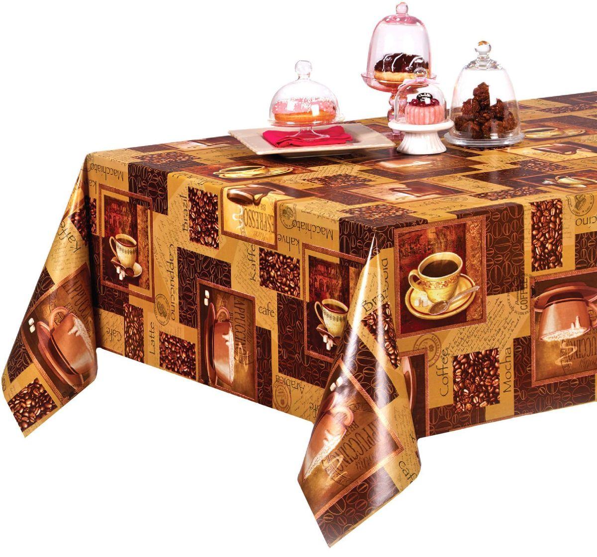 Столовая клеенка LCadesi Florista, прямоугольная, 100 х 140 см. FL100140-004-00FL100140-004-00Столовая клеенка Florista с ярким дизайном украсит ваш стол и защитит его от царапин и пятен. Благодаря основе из нетканого материала не скользит по столу. Клеенка не имеет запаха и совершенно безопасна для человека.