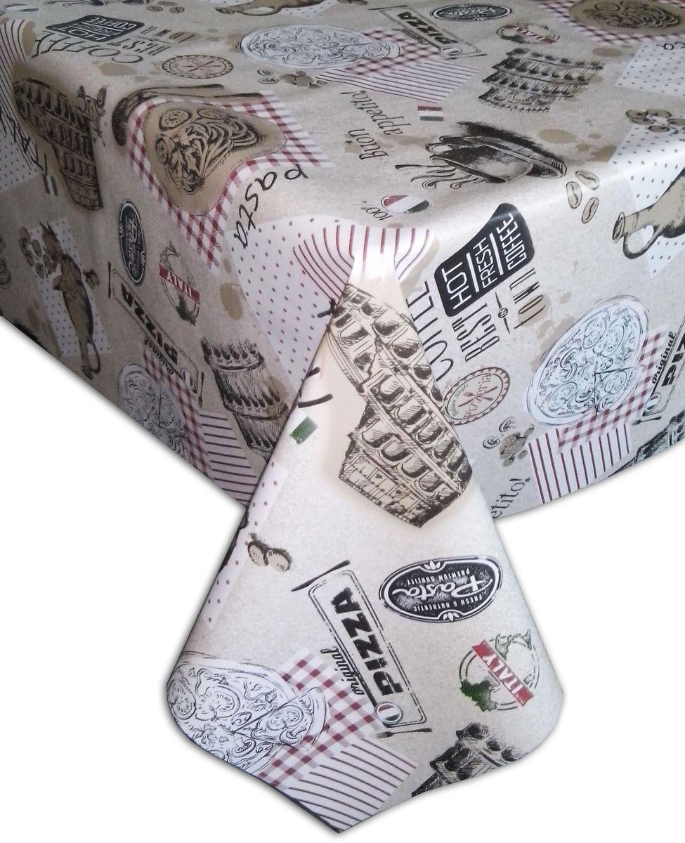 Столовая клеенка LCadesi Florista, прямоугольная, 100 х 140 см. FL100140-014-00FL100140-014-00Столовая клеенка Florista с ярким дизайном украсит ваш стол и защитит его от царапин и пятен. Благодаря основе из нетканого материала не скользит по столу. Клеенка не имеет запаха и совершенно безопасна для человека.