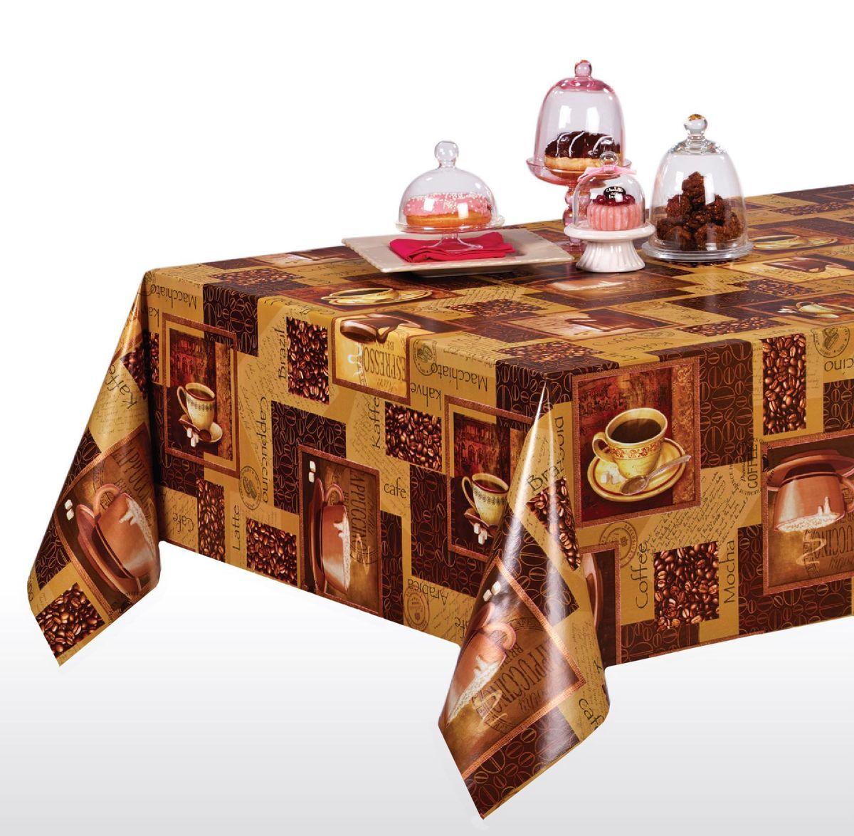 Столовая клеенка LCadesi Florista, прямоугольная, 130 х 165 см. FL130165-004-00FL130165-004-00Столовая клеенка Florista с ярким дизайном украсит ваш стол и защитит его от царапин и пятен. Благодаря основе из нетканого материала не скользит по столу. Клеенка не имеет запаха и совершенно безопасна для человека.