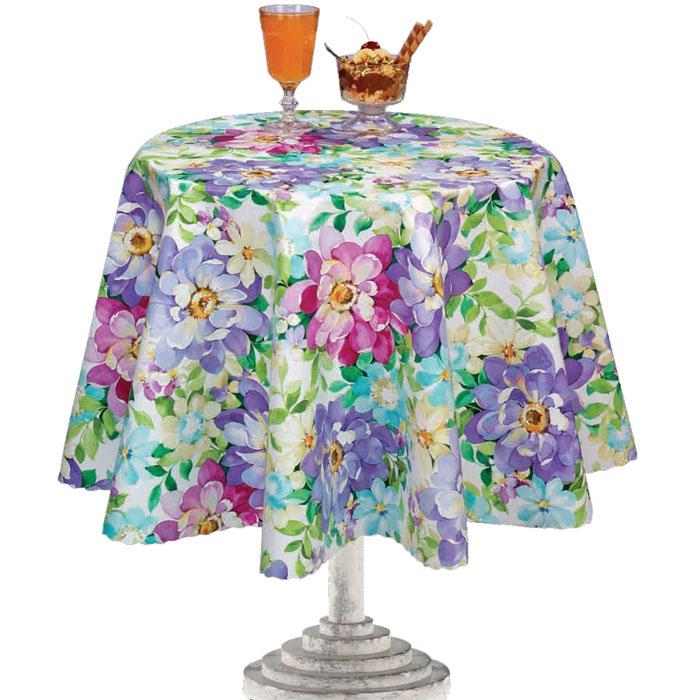 Столовая клеенка LCadesi Florista, прямоугольная, 130 х 165 см. FL130165-132-01FL130165-132-01Столовая клеенка Florista с ярким дизайном украсит ваш стол и защитит его от царапин и пятен. Благодаря основе из нетканого материала не скользит по столу. Клеенка не имеет запаха и совершенно безопасна для человека.