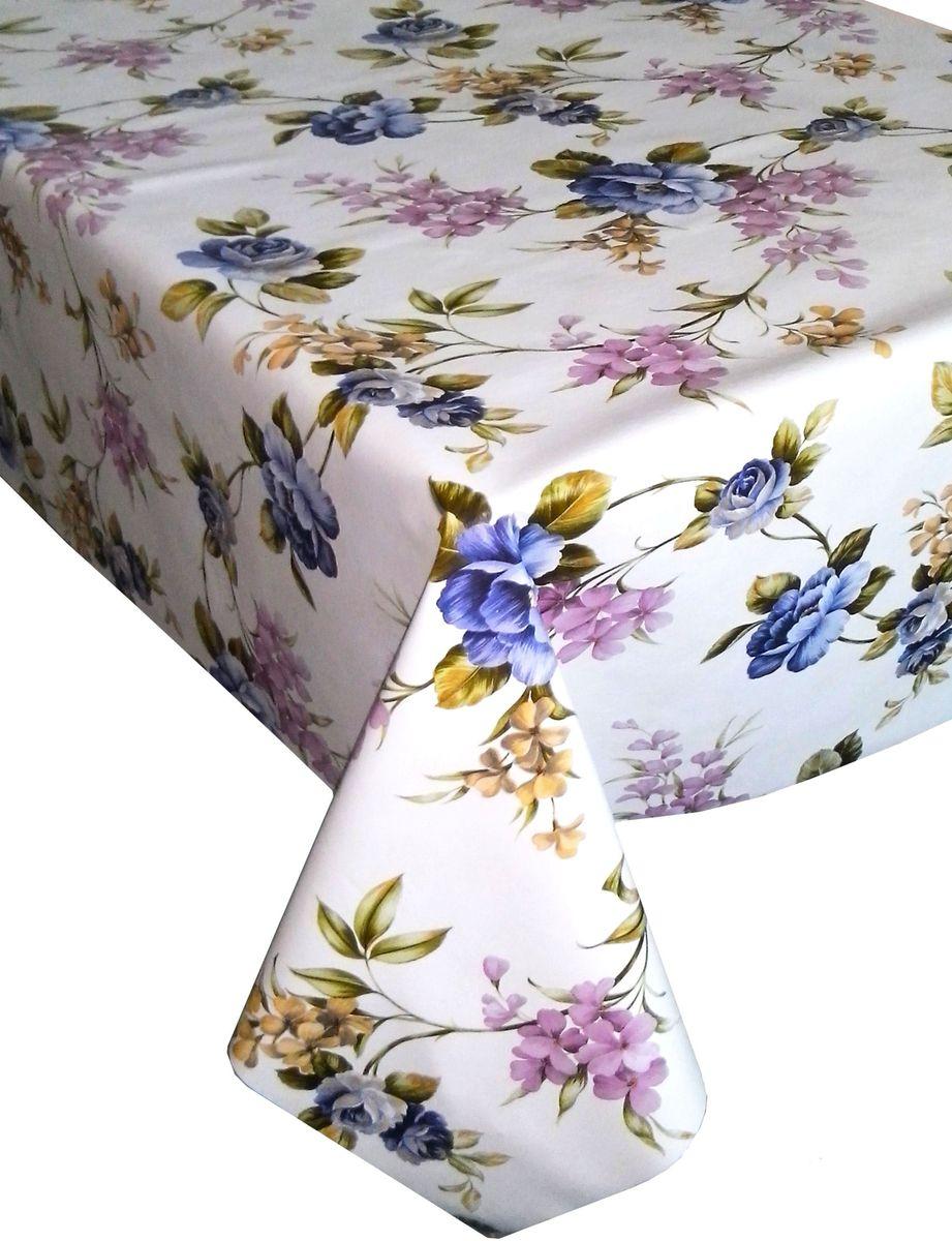 Столовая клеенка LCadesi Florista, прямоугольная, 130 х 165 см. FL130165-318-04FL130165-318-04Столовая клеенка Florista с ярким дизайном украсит ваш стол и защитит его от царапин и пятен. Благодаря основе из нетканого материала не скользит по столу. Клеенка не имеет запаха и совершенно безопасна для человека.