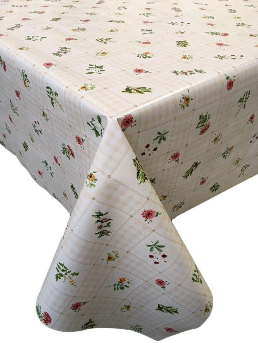 Столовая клеенка LCadesi Florista, прямоугольная, 130 х 165 см. FL130165-326-01FL130165-326-01Столовая клеенка Florista с классическим дизайном украсит ваш стол и защитит его от царапин и пятен. Благодаря основе из нетканого материала не скользит по столу. Клеенка не имеет запаха и совершенно безопасна для человека.