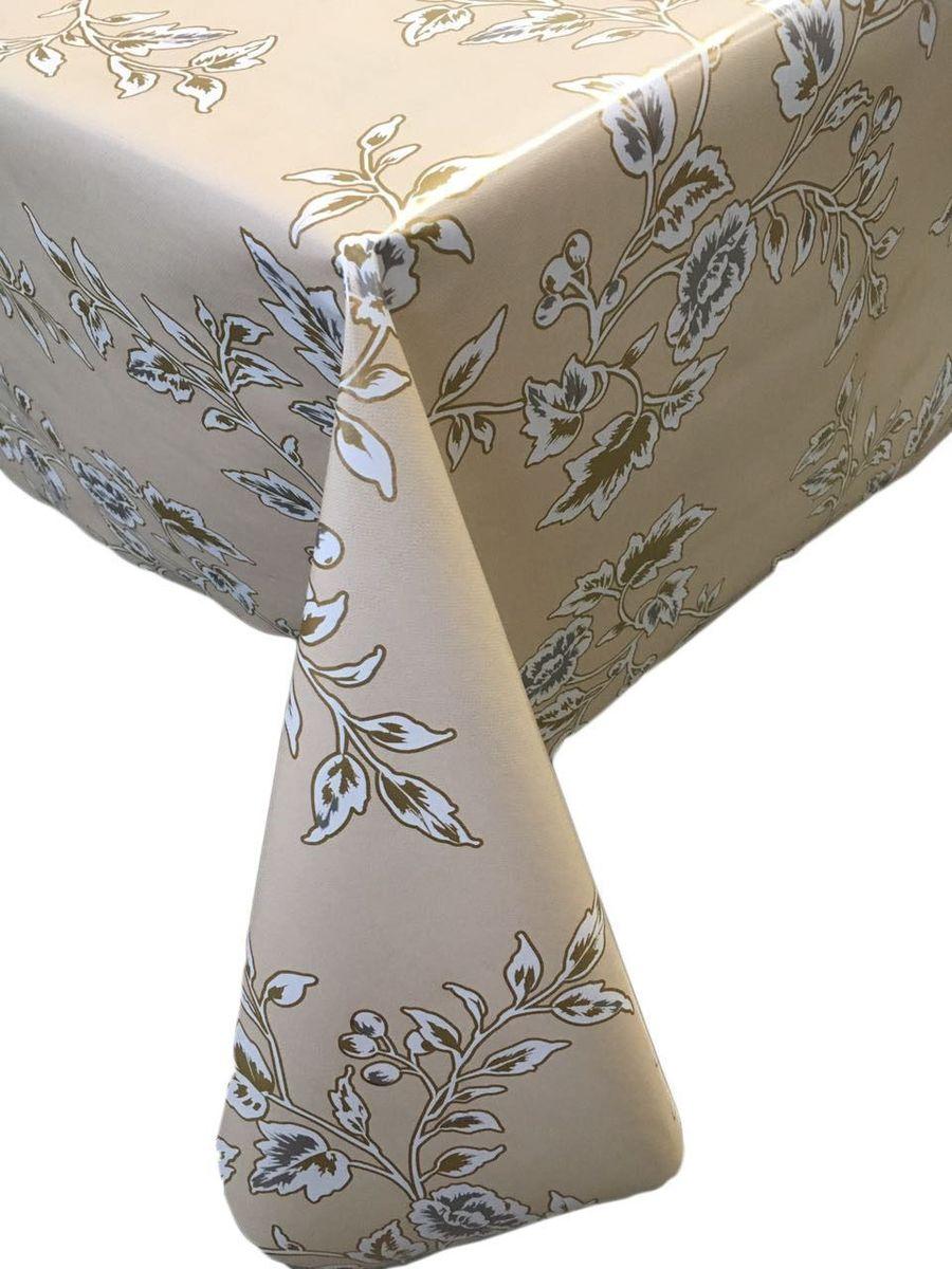 Столовая клеенка LCadesi Florista, прямоугольная, 130 х 165 см. FL130165-333-03FL130165-333-03Столовая клеенка Florista с классическим дизайном украсит ваш стол и защитит его от царапин и пятен. Благодаря основе из нетканого материала не скользит по столу. Клеенка не имеет запаха и совершенно безопасна для человека.