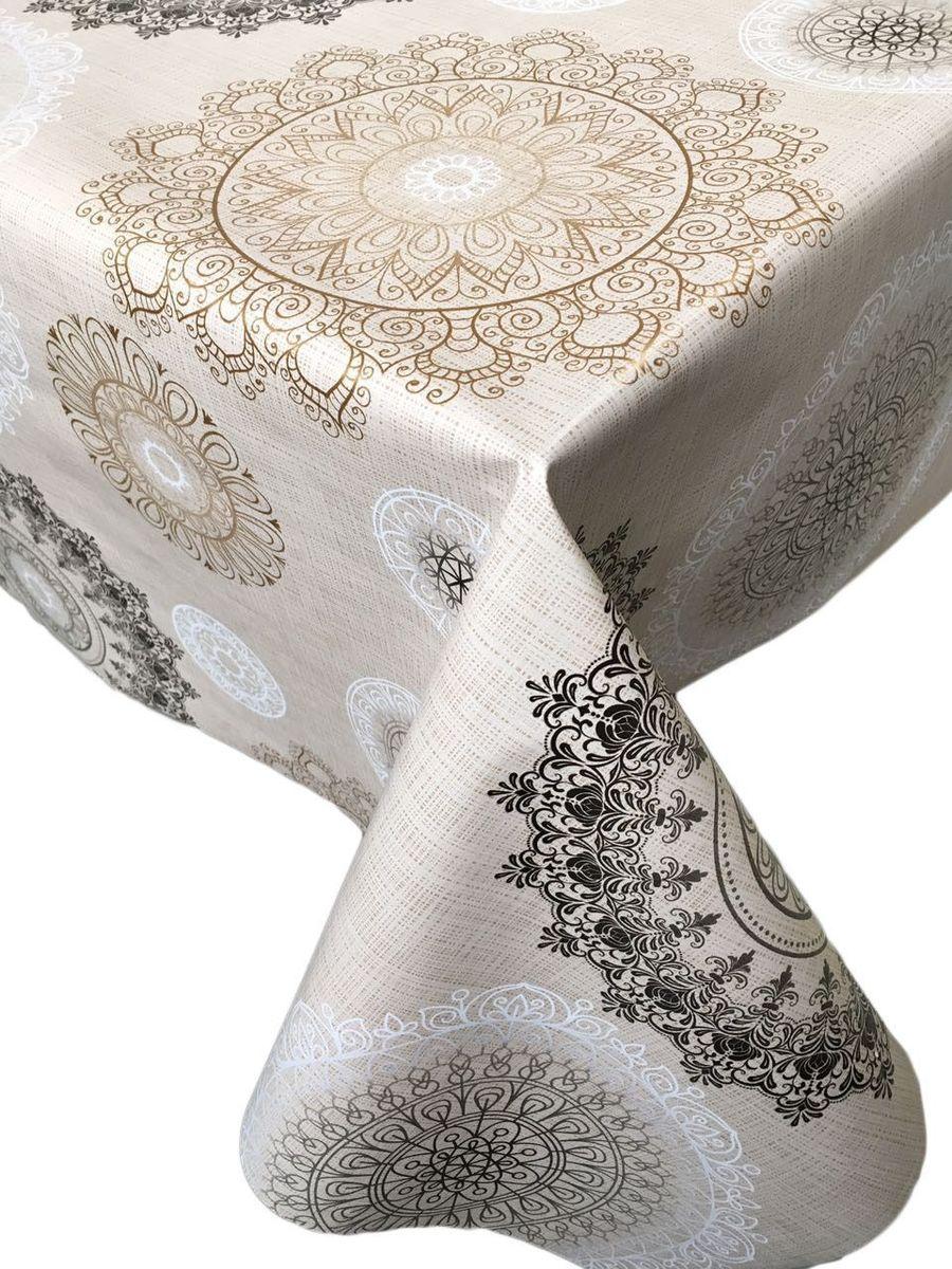 Столовая клеенка LCadesi Florista, прямоугольная, 130 х 165 см. FL130165-340-01FL130165-340-01Столовая клеенка Florista с классическим дизайном украсит ваш стол и защитит его от царапин и пятен. Благодаря основе из нетканого материала не скользит по столу. Клеенка не имеет запаха и совершенно безопасна для человека.