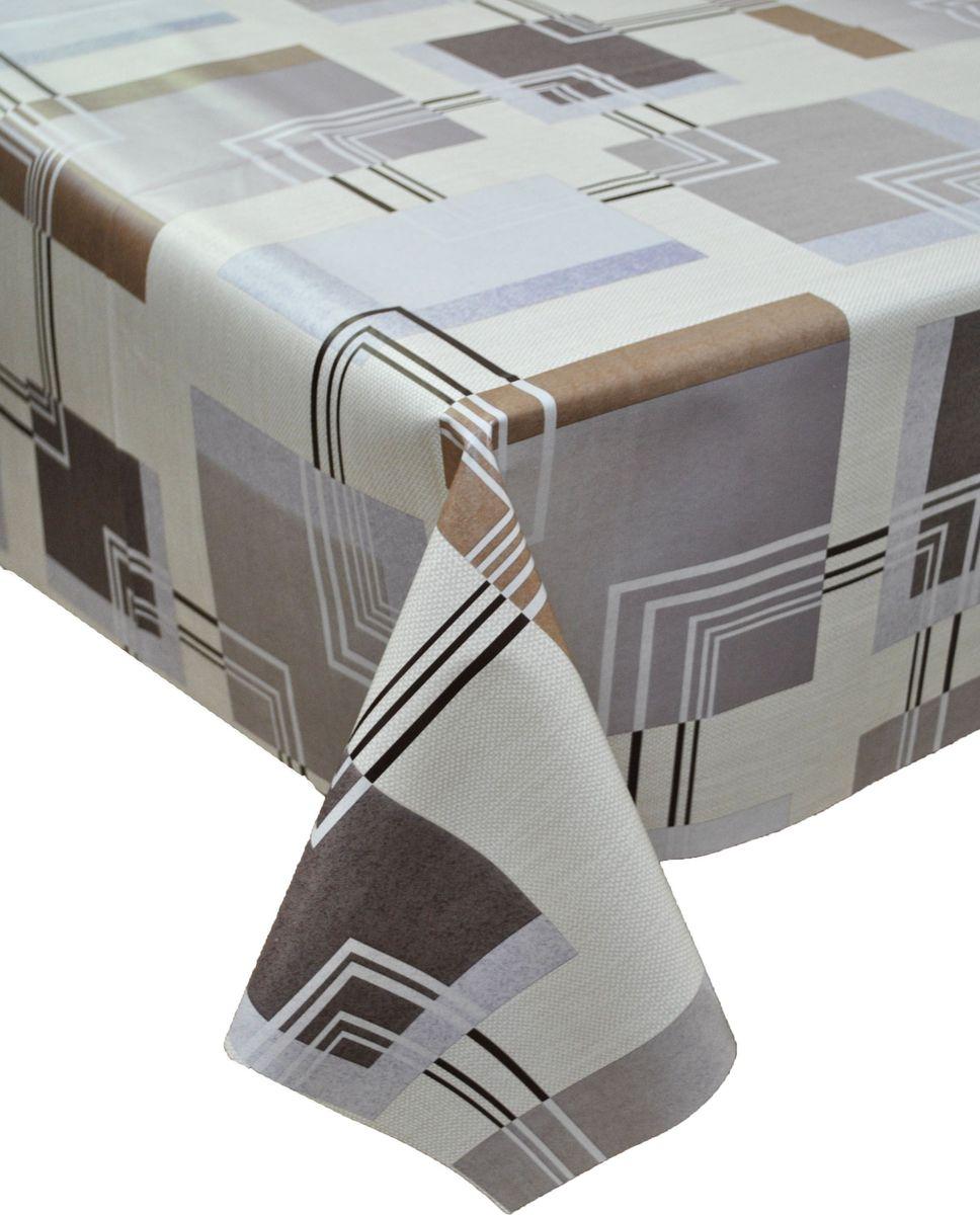 Столовая клеенка LCadesi Florista, прямоугольная, 140 х 200 см. FL140200-084-05FL140200-084-05Столовая клеенка Florista с классическим дизайном украсит ваш стол и защитит его от царапин и пятен. Благодаря основе из нетканого материала не скользит по столу. Клеенка не имеет запаха и совершенно безопасна для человека.