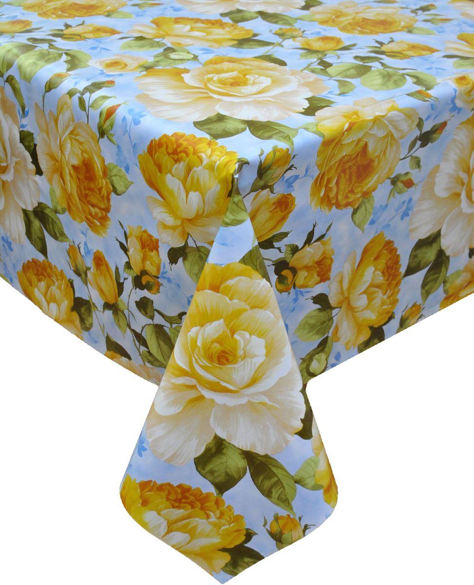 Столовая клеенка LCadesi Florista, прямоугольная, 140 х 200 см. FL140200-223-01FL140200-223-01Столовая клеенка Florista с классическим дизайном украсит ваш стол и защитит его от царапин и пятен. Благодаря основе из нетканого материала не скользит по столу. Клеенка не имеет запаха и совершенно безопасна для человека.