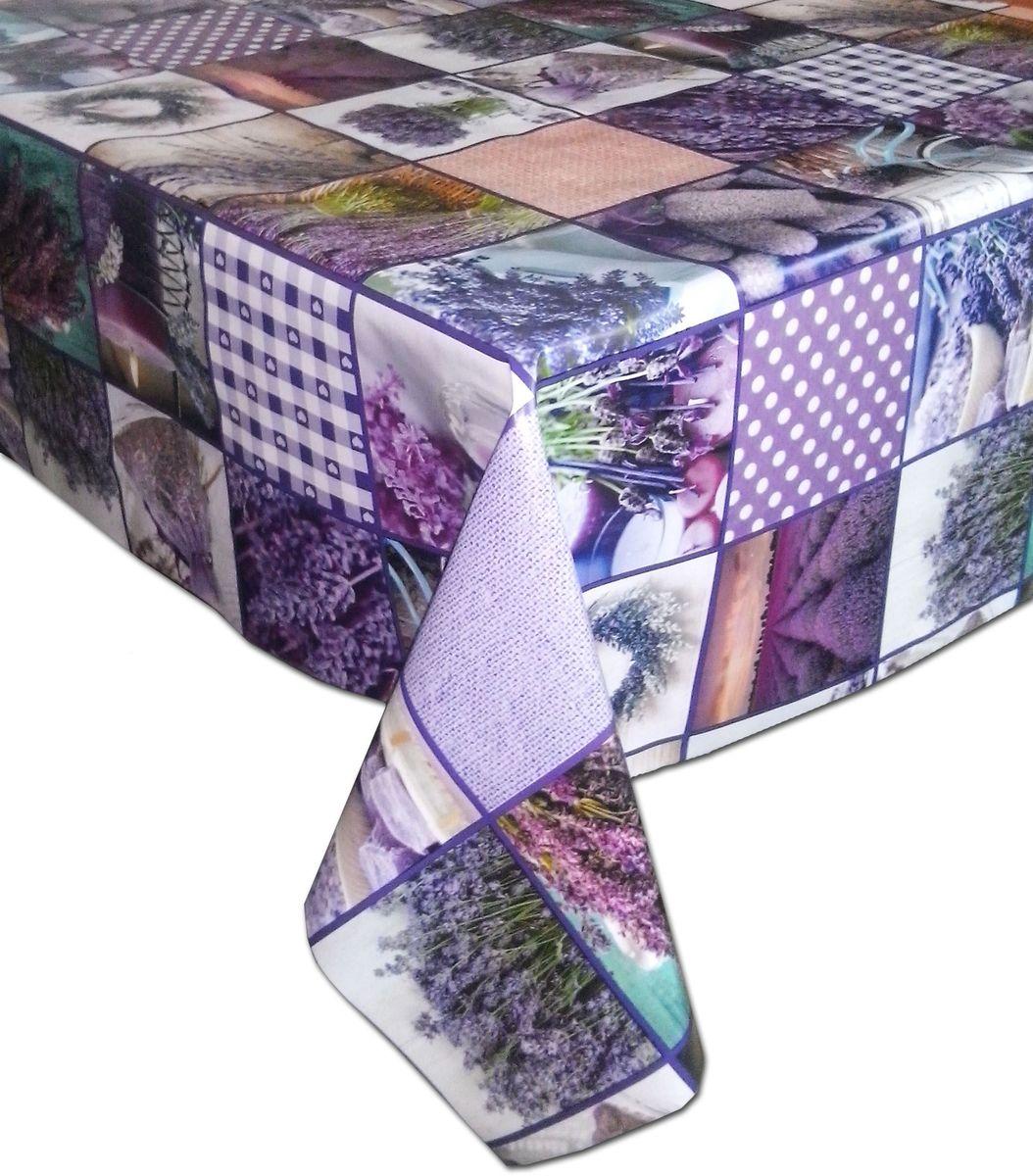 Столовая клеенка LCadesi Florista, прямоугольная, 140 х 200 см. FL140200-309-00FL140200-309-00Столовая клеенка Florista с ярким дизайном украсит ваш стол и защитит его от царапин и пятен. Благодаря основе из нетканого материала не скользит по столу. Клеенка не имеет запаха и совершенно безопасна для человека.