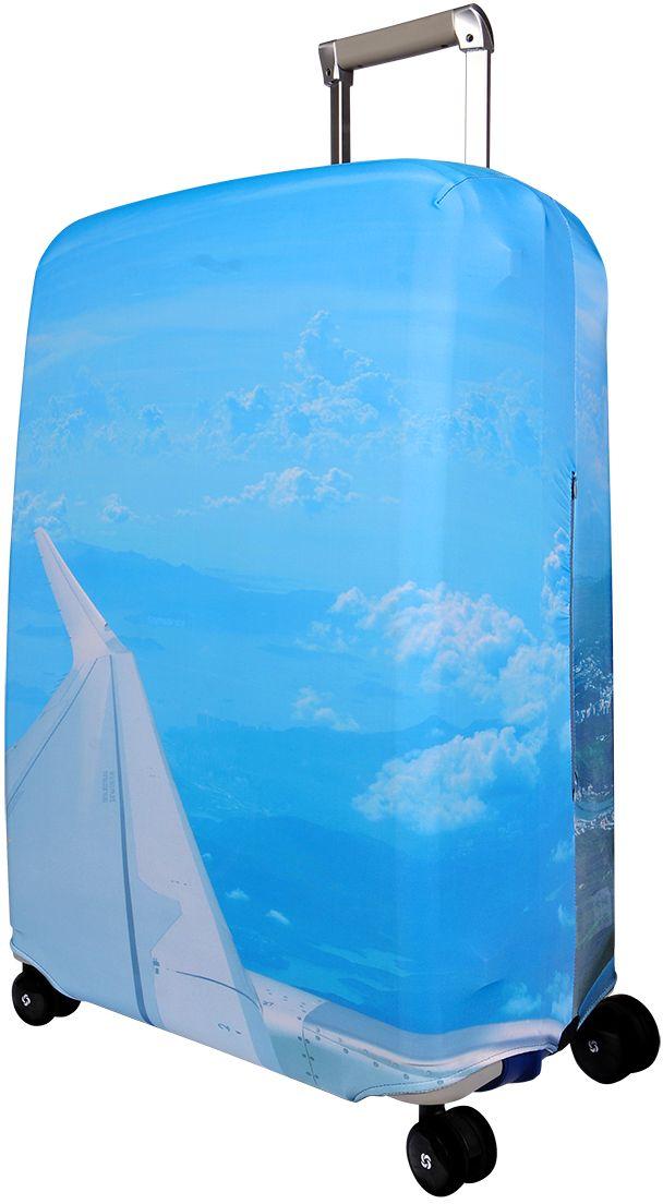 Чехол для чемодана Routemark SkyZone, размер L/XL (75-85 см)Sk-II-L/XLДля больших чемоданов, высотой от 75 до 85 см (29-33 inch) (мерить от пола). Плотность ткани - 240 г/кв.м, упрочнённые швы, 2 потайные молнии для боковых ручек с двух сторон. Внизу чехла - молния трактор, дополнительная резинка с фастексом для лучшей усадки. Стойкая сублимационная печать.