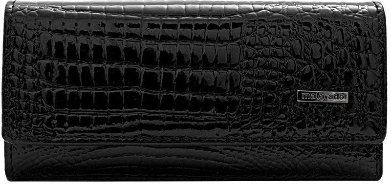 Ключница Malgrado, цвет: черный. 47006-4647006-46Стильная ключница Malgrado изготовлена из натуральной лакированной кожи и закрывается широким клапаном на две кнопки. Внутри ключницы расположено шесть крючков для ключей, кармашек на застежке-молнии и металлическое кольцо для возможности крепления к поясу или сумке. Ключница упакована в коробку из плотного картона с логотипом фирмы. Характеристики: Материал: натуральная кожа, металл, текстиль. Размер ключницы: 12 см x 6 см х 2 см. Цвет: черный. Размер упаковки: 14,5 см x 7,5 см x 3 см. Артикул: 47006-46.