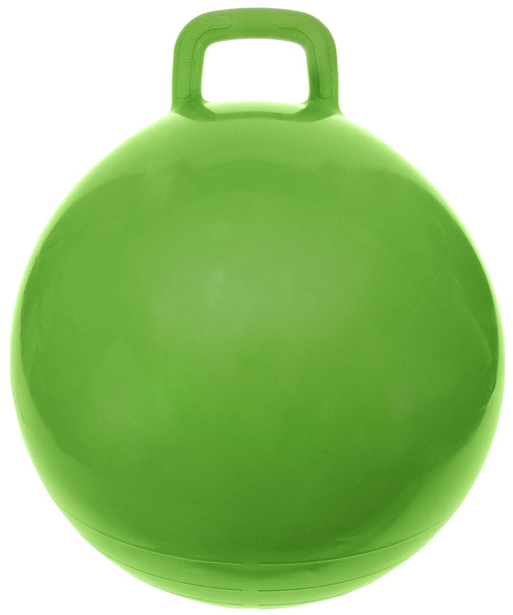 МалышОК! Мяч Прыгун с ручкой цвет зеленый 50 см 6052501042