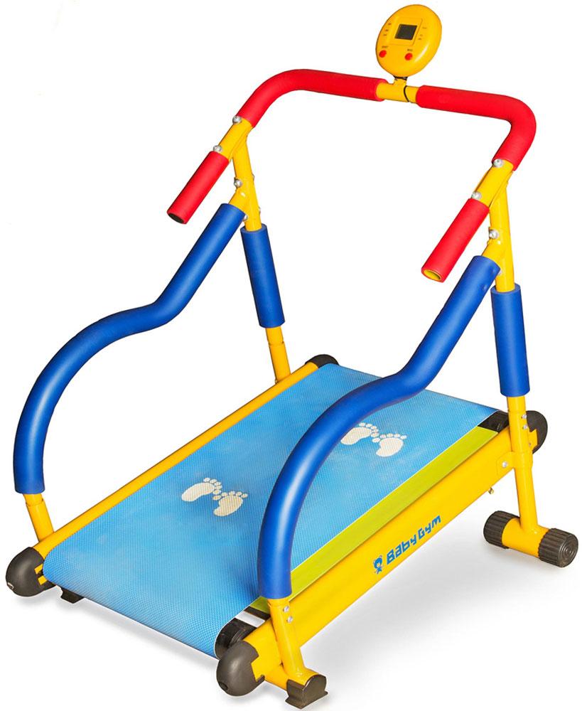 Дорожка беговая Larsen Baby Gym. LEM-KTM002247655Размеры в собранном виде: 72 х 59 х 77 см Масса в собранном виде: 13,5 кг Максимальный вес пользователя: 50 кг