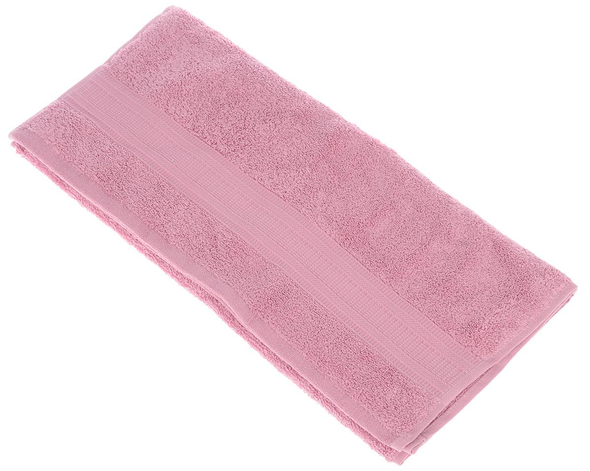 Полотенце TAC Mixandsleep, цвет: розовый, 50 см х 90 см1201Махровое полотенце TAC Calvaro выполнено из приятного на ощупь натурального хлопка кремового цвета и декорировано изящным орнаментом. Полотенце прекрасно впитывает влагу и легко стирается. Полотенце TAC Mixandsleep создаст атмосферу уюта и комфорта в вашем доме. Хлопок - это волшебный цветок, хранящий в своем сердце тепло и нежность. Человек начал использовать волокна этих растений еще в глубокой древности. Этот натуральный материал обладает такими свойствами как гигроскопичность и гипоаллергенность. Размер: 50 см х 90 см. Плотность: 500 г/м2.