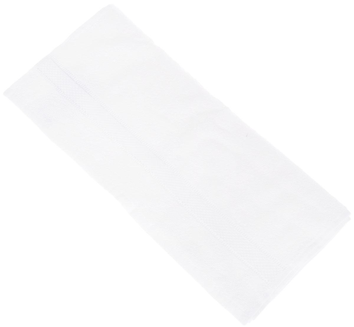 Полотенце Brielle Basic, цвет: белый, 50 х 85 см1209Полотенца ТАС Приятно удивляют и дают возможность почувствовать себя творцом окружающего декора. Махровая ткань – официальное название «фроте», народное – «махра». Фроте – это натуральная ткань, поверхность которой состоит из ворса (петель основных нитей). Ворс может быть как одинарным (односторонним), так и двойным (двусторонним).