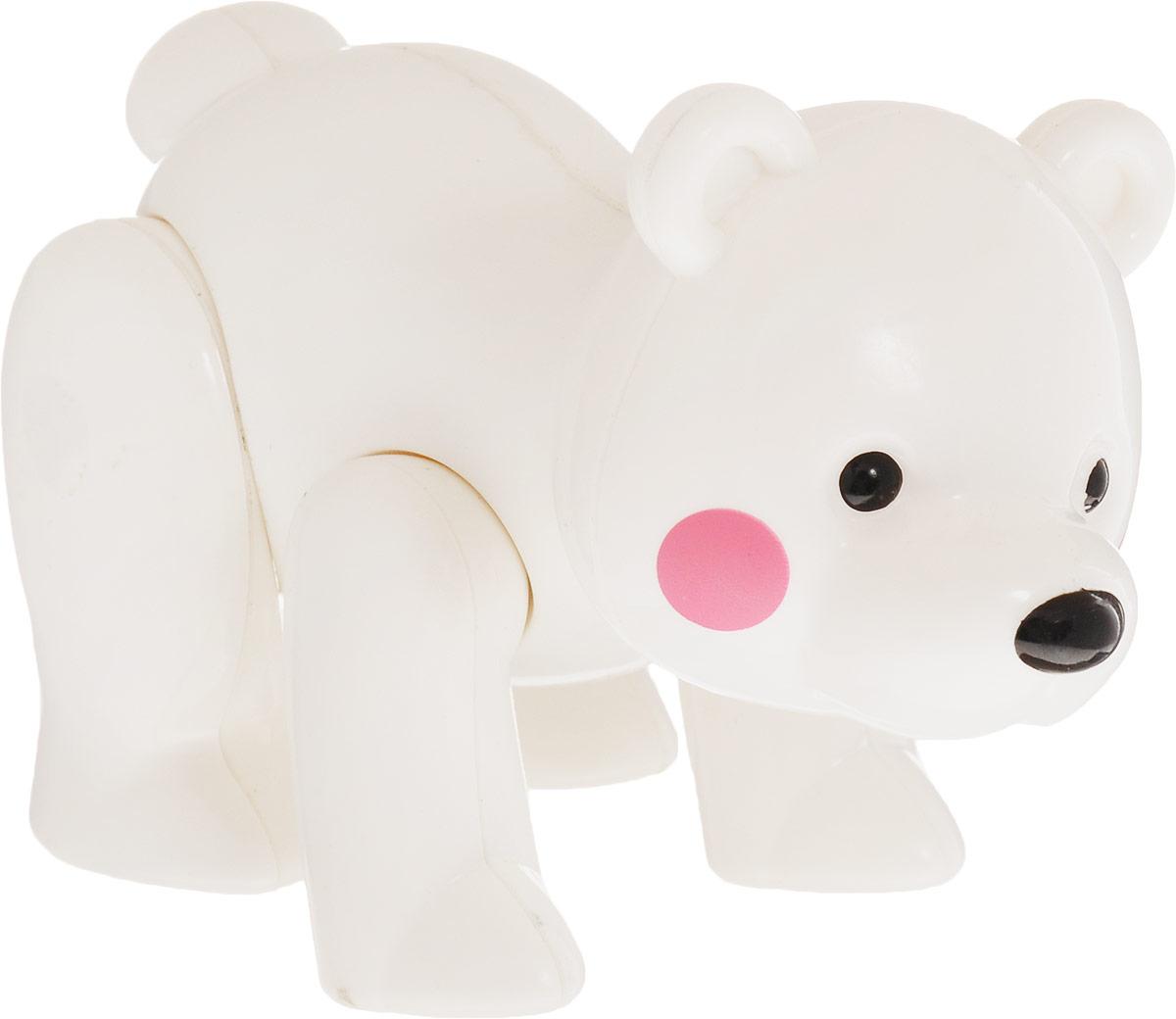 Ути-Пути Развивающая игрушка Медведь цвет белый