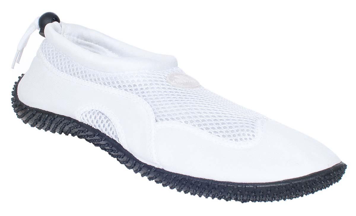 Обувь для кораллов жен Trespass Paddle, цвет: белый. UAFOBEI10001. Размер 38UAFOBEI10001Легкие, быстросохнущие акваботинки.